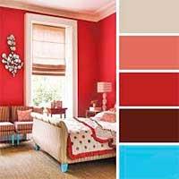 Как комбинировать цвета в спальне